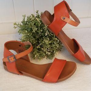 Zigi Soho women's Island sandals in rusty/orange